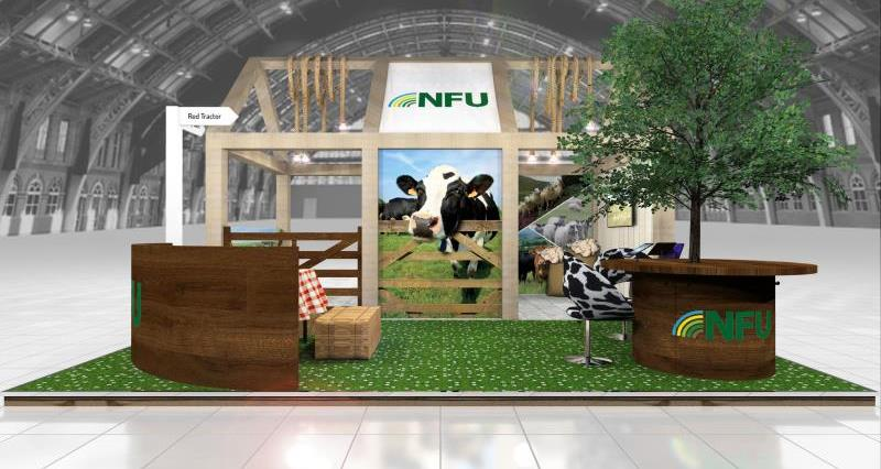 NFU takes the farmed countryside to Conservative conference