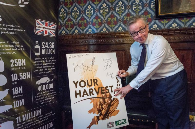 Michael Gove at #YourHarvest launch_55663