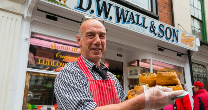 Ludlow butcher - DW Walls & Son_57013