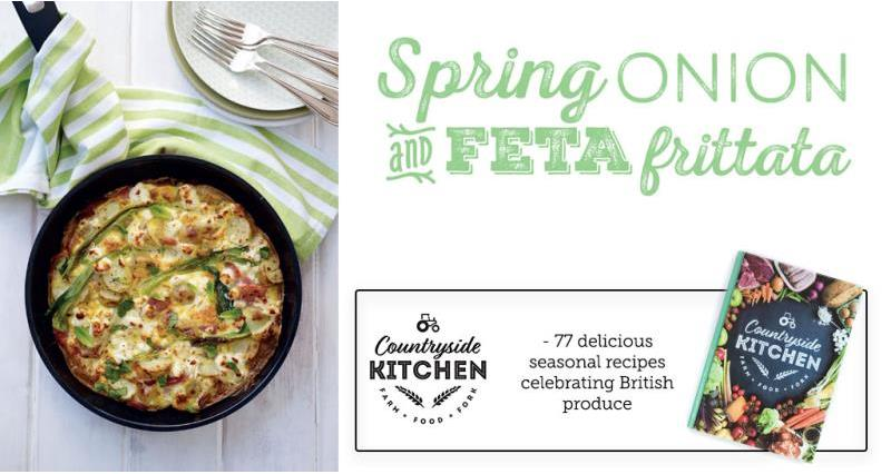 Spring Onion & Feta Frittata - countryside kitchen_53084