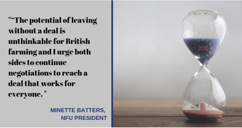 Brexit talks - October 2018 - quote from minette batters_58031