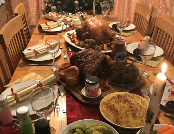 Christmas dinner, NFU Cymry _49297
