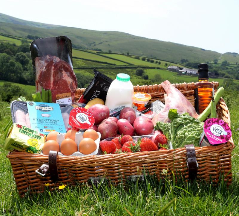 Welsh produce hamper_56622