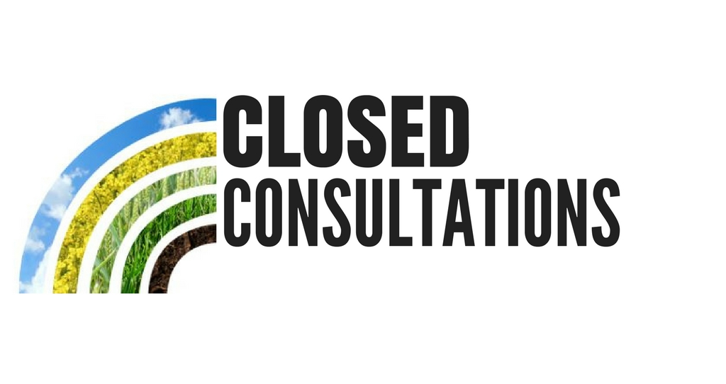 Closed Consultations