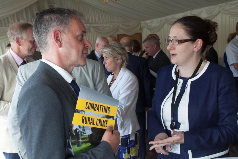 Sam Durham and Caroline Johnson MP_45190