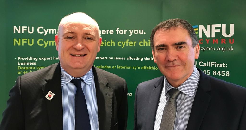 New NFU Cymru President & Deputy_50387