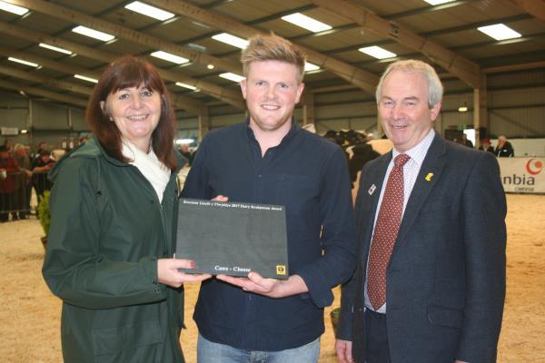 James Evans - Dairy Award 17 Presentation_47999
