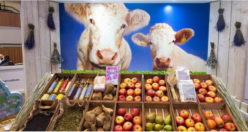 NFU showcasing British farming at party conferences
