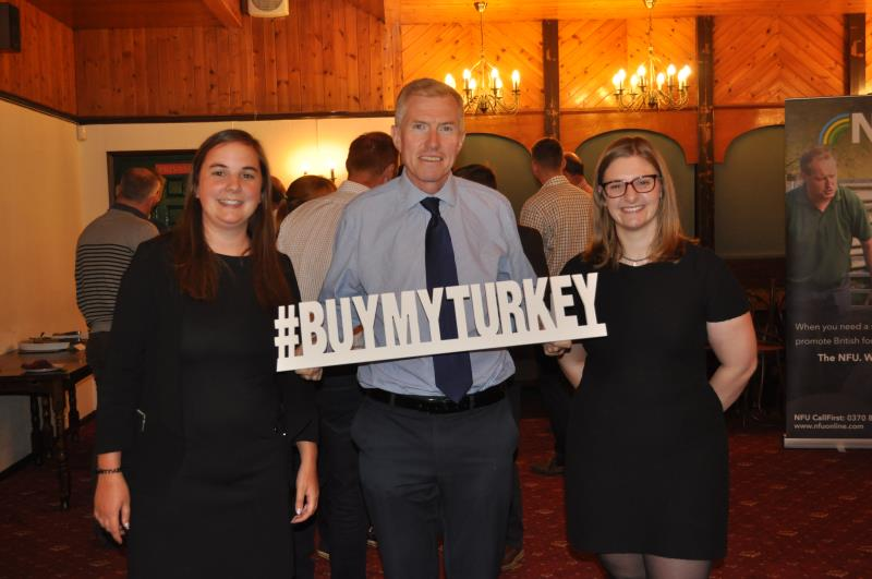 Aimee Mahoney, John Newton, Ruby Powell turkey marketing #buymyturkey_57494