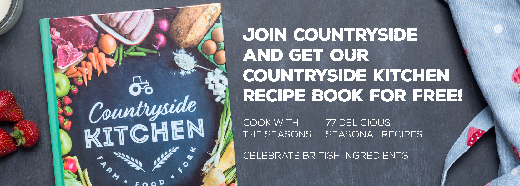 Countryside Kitchen recipe book web banner