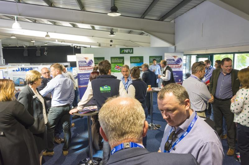 Poultry apprenticeship launch NFU stand Pig and Poultry 2018_54051