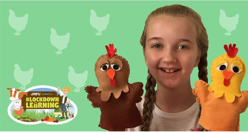 #LockdownLearning: Make a poultry puppet