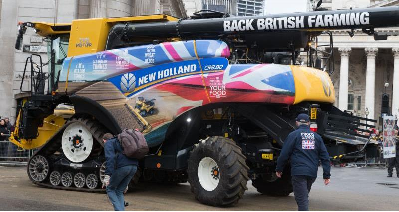 Farmer's made a big impression at the Lord Mayor's Show last weekend