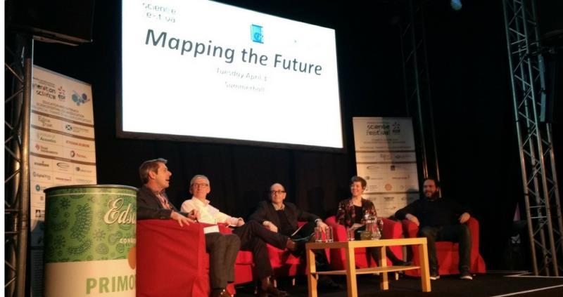 Helen Ferrier at Edinburgh International Science Festival_53080