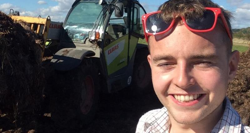 Young farmer Ben picked for Lord Mayor's Show