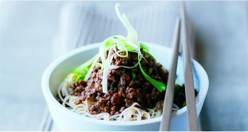 Asian-style beef noodles