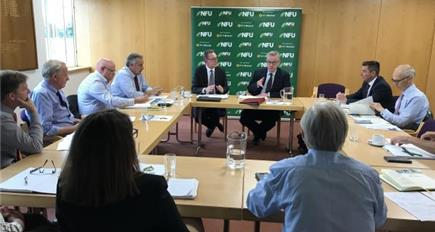 Michael Gove meeting highlights farm water concerns