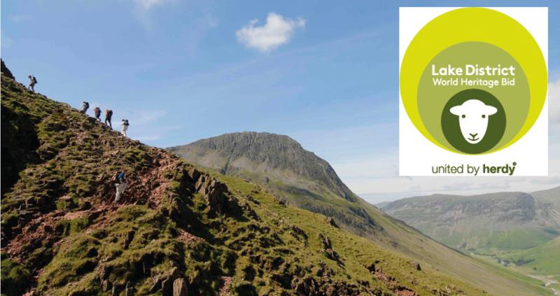 lake district world heritage scafell pike and logo_37900
