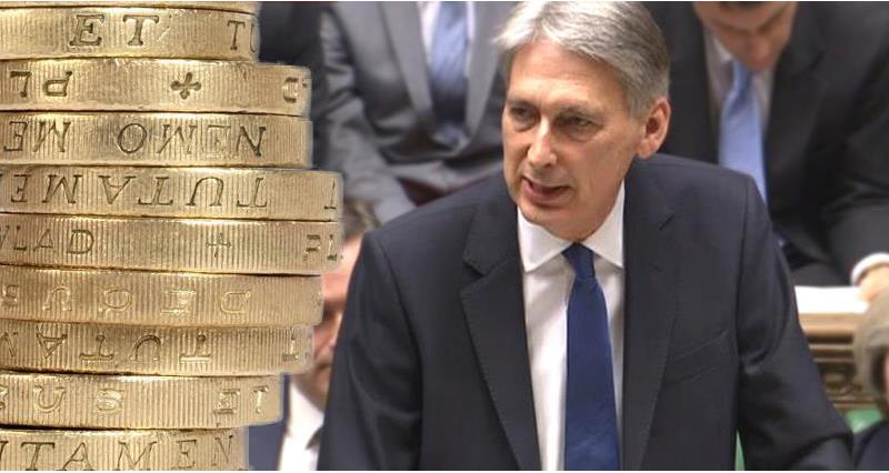 chancellor and pound coin - budget image_41829
