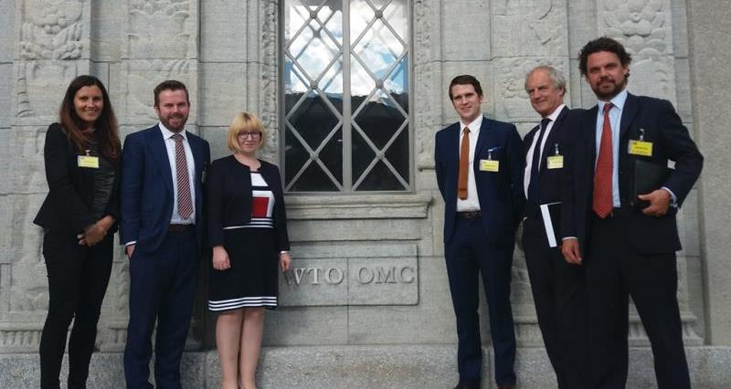 nfu brexit team at the wto, world trade organisation, crop, july 2017_45588