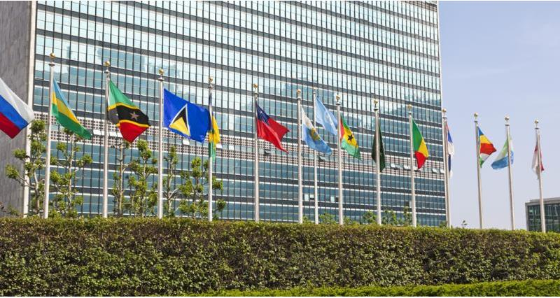 flags at united nations, wto_46307