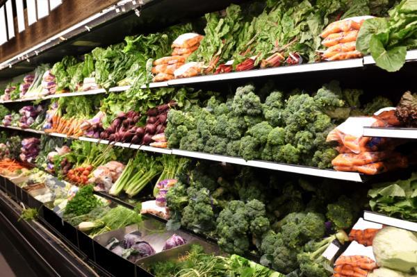 fruit and vegetables, veg, supermarket, shelf, shopping, horticulture_31634