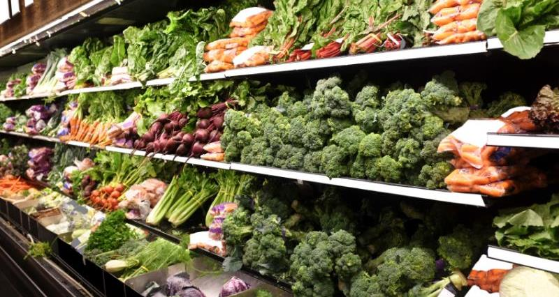 fruit and vegetables, veg, supermarket, shelf, shopping, horticulture_31634