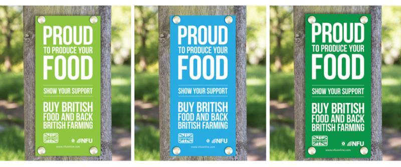 gatepost signs, back british farming, february 2017, nfu17_40987