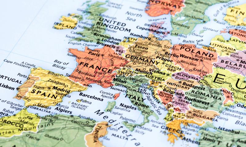 map of europe_34999