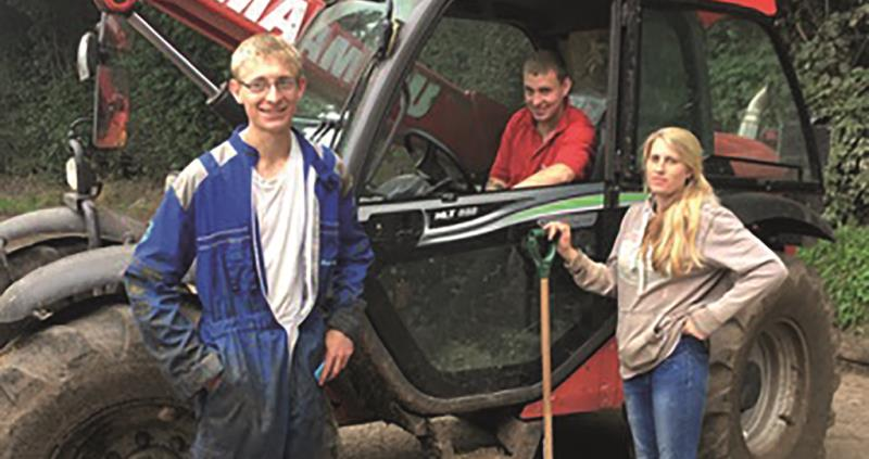 sophie warner, lewis patilla-groom and callum casey, dairy, british farmer and grower, student farmer, august 2017, next generation_45852