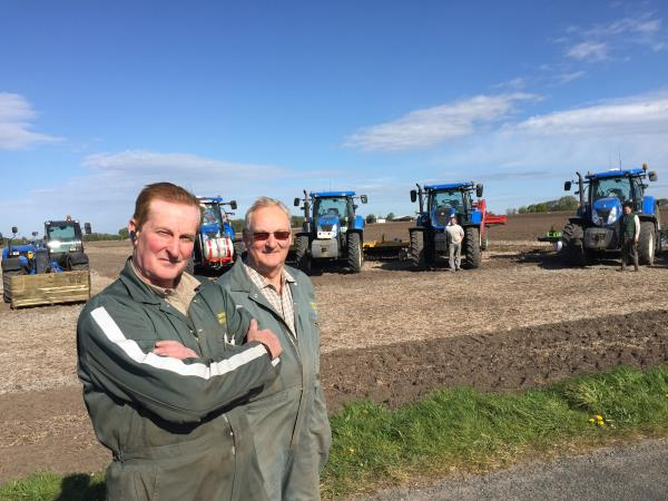 West Lancs potato growers Robin and John Cropper_43844