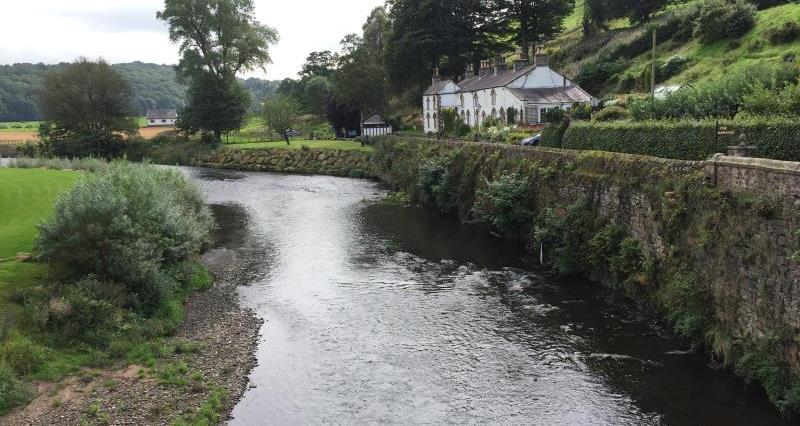The River Calder near Whalley_46337