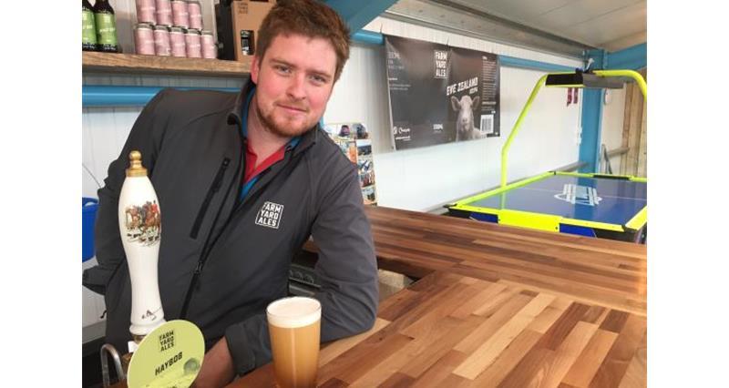 Steven Holmes of Farm Yard Ales in Cockerham Lancashire_48295