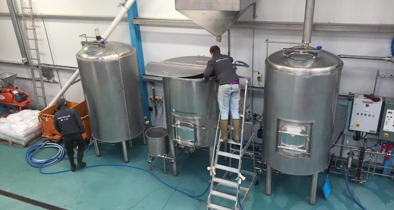 The Brewery at Farm Yard Ales, Moss Edge Farm in Cockerham_48293