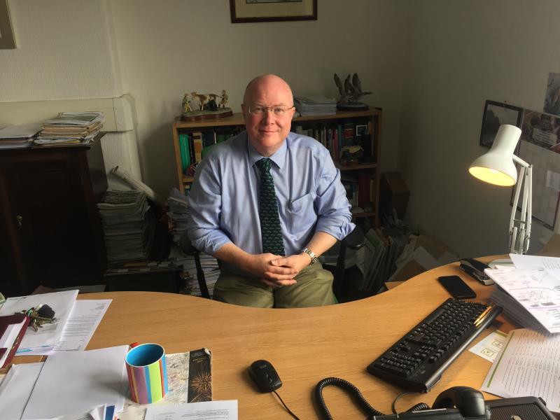 Clitheroe Group Secretary Andrew Rothwell_46335