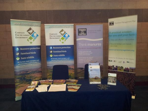 CFE and Tried & Tested Stand at NFU Conference 2012_10321